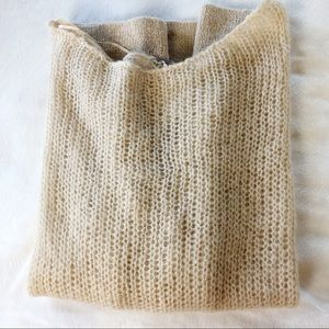 NWOT Free People Chunky Knit Oversized Sweater S